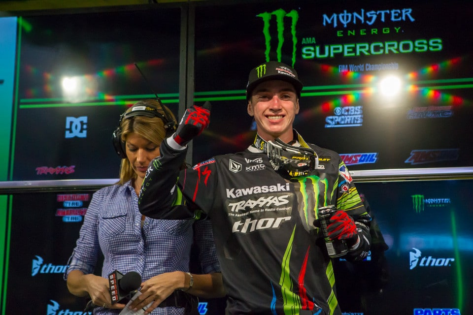 All smiles from Dean Wilson who was so darn excited just to be back at the races. The win was just a bonus.